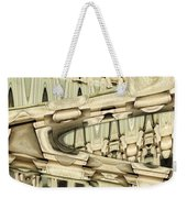 Wood Sine Weekender Tote Bag
