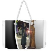 Wood Spell Weekender Tote Bag