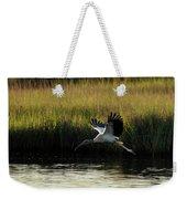 Wood Stork Winged Flight Weekender Tote Bag