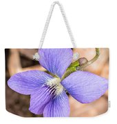 Wood Violet - Full View Weekender Tote Bag