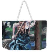Wood Witch Weekender Tote Bag
