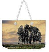 Woodburn Oregon - Sky Lights Weekender Tote Bag