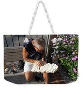 Woodcarver Weekender Tote Bag