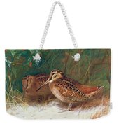 Woodcock In The Undergrowth Weekender Tote Bag