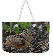 Woodcock In The Woods Weekender Tote Bag