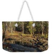 Wooded Backwash Weekender Tote Bag