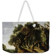 Wooded Landscape Weekender Tote Bag