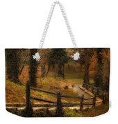 Wooded Path Weekender Tote Bag