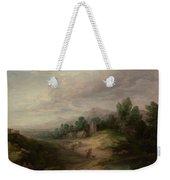Wooded Upland Landscapewooded Upland Landscape By Thomas Gainsborough, Circa 1783 Weekender Tote Bag