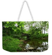 Wooded Valley Of The Patapsco River North Branch Maryland Weekender Tote Bag
