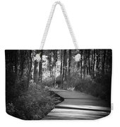 Wooded Walk Weekender Tote Bag