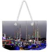 Wooden Boats 2 Weekender Tote Bag