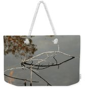 Wooden Bridge In Color Weekender Tote Bag