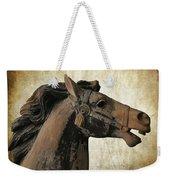 Wooden Carousel Horse Weekender Tote Bag