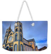 Wooden Cathedral  Weekender Tote Bag