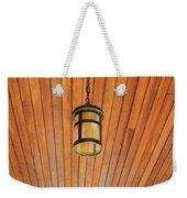 Wooden Ceiling Weekender Tote Bag