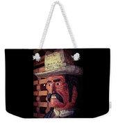 Wooden Cowboy Weekender Tote Bag