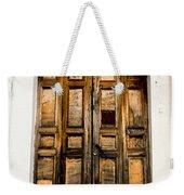 Wooden Door 1 Weekender Tote Bag