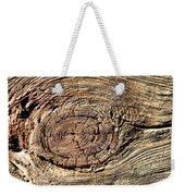 Wooden Eye 1 Weekender Tote Bag