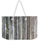 Wooden Fence And Ivy Weekender Tote Bag