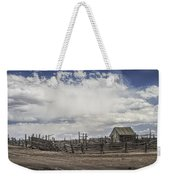 Wooden Fenced Corral Out West Weekender Tote Bag