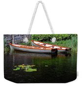 Wooden Rowboats Weekender Tote Bag