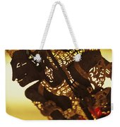 Wooden Shadow Puppets Weekender Tote Bag