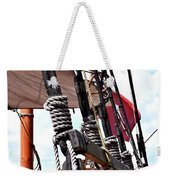 Wooden Ship Blocks And Tackle 13921 Weekender Tote Bag