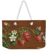 Wooden Strawberries Weekender Tote Bag