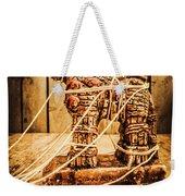 Wooden Trojan Horse Weekender Tote Bag