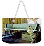 Wooden Wagon Seat Weekender Tote Bag