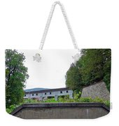 Wooden Walkway As Seen From The Cesky Krumlov Casle Gardens  Weekender Tote Bag