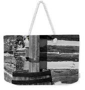 Wooden Water Barrel Weekender Tote Bag