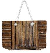 Wooden Window Weekender Tote Bag