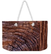 Woodgrain Weekender Tote Bag