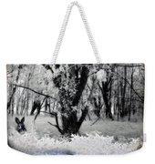 Woodland Fluff Weekender Tote Bag