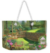 Woodland Garden In A Small Town Weekender Tote Bag