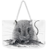 Woodland Jumping Mouse Weekender Tote Bag