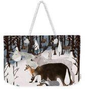 Woodland Nature Weekender Tote Bag