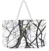 Woodpecker In The Forest Weekender Tote Bag