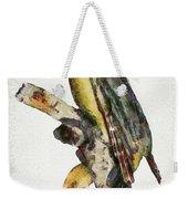 Woodpecker Red Heads Weekender Tote Bag