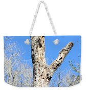 Woodpecker Was Here Weekender Tote Bag