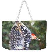 Woodpecker Wings Weekender Tote Bag