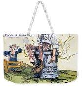 Woodrow Wilson: Mexico Weekender Tote Bag