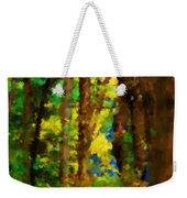 Woods Approach To Lake Weekender Tote Bag