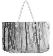 Woods In Mist, Stagshaw Common Weekender Tote Bag
