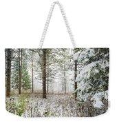 Woods In Winter At Retzer Nature Center  Weekender Tote Bag