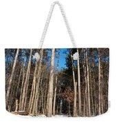 Woods In Winter Weekender Tote Bag