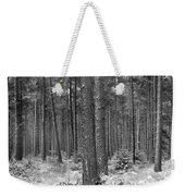 Woods In Winter, Slaley Weekender Tote Bag