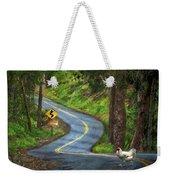 Woods Road 1 - Summer Weekender Tote Bag